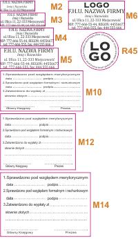 Drukarnia Internetowa Galar.pl piecztki parametry