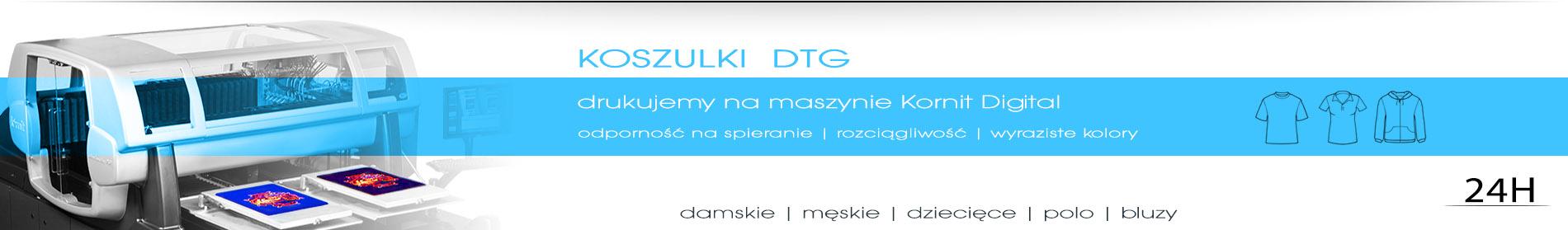 Drukarnia DGprint.pl drukujemy koszulki DTG