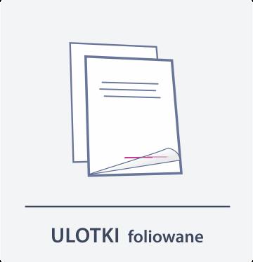 ulotki foliowane Drukarnia DGprint.pl