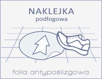 naklejki podłogowe Drukarnia DGprint.pl
