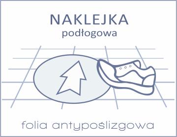 naklejki podłogowe Drukarnia DGprint.pl 2