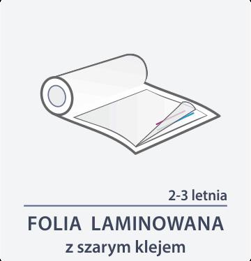folia laminowana z szarym klejem Drukarnia DGprint.pl 2