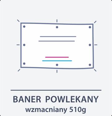 baner powlekany 510 g Drukarnia DGprint.pl