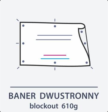 baner dwustronny Drukarnia DGprint.pl