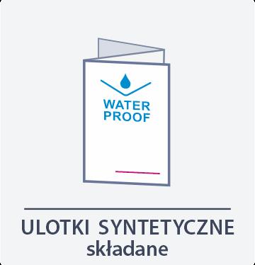 ulotki syntetyczne składane Drukarnia DGprint.pl