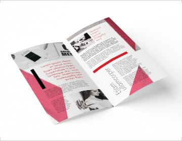 drukarnia DGprint.pl - ulotki składane 2