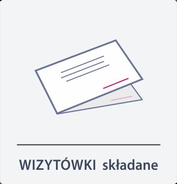wizytówki składane Drukarnia DGprint.pl