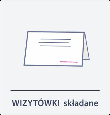 wizytówki składane Drukarnia DGprint.pl 2