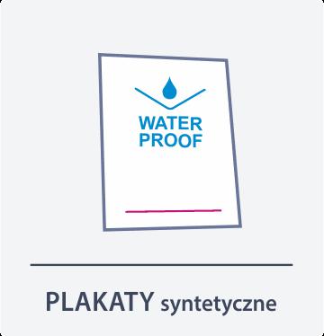 plakaty syntetyczne Drukarnia DGprint.pl
