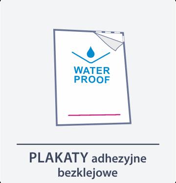 plakaty samoprzylepne Drukarnia DGprint.pl