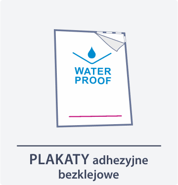 plakaty samoprzylepne Drukarnia DGprint.pl 2