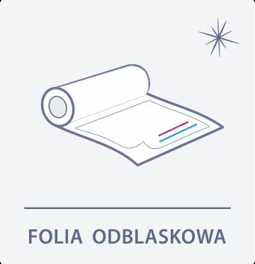folia odblaskowa Drukarnia DGprint.pl
