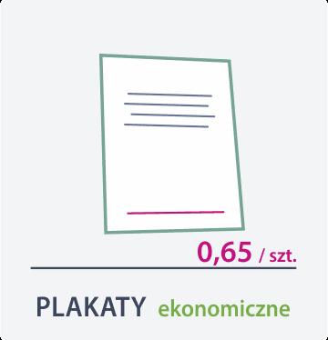 plakaty ekonomiczne Drukarnia DGprint.pl