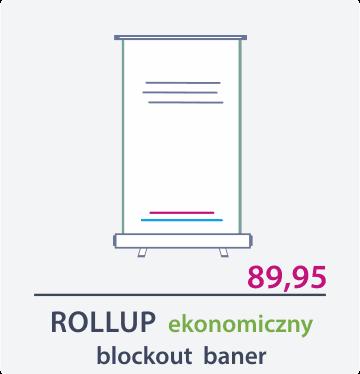 rollup ekonomiczny Drukarnia DGprint.pl 2